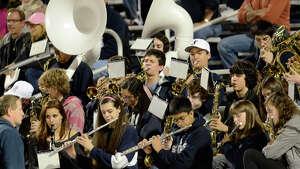 Staples High School hosts Fairfield Ludlowe High School in varsity football in Westport, CT  on Fri. Oct. 11, 2013.