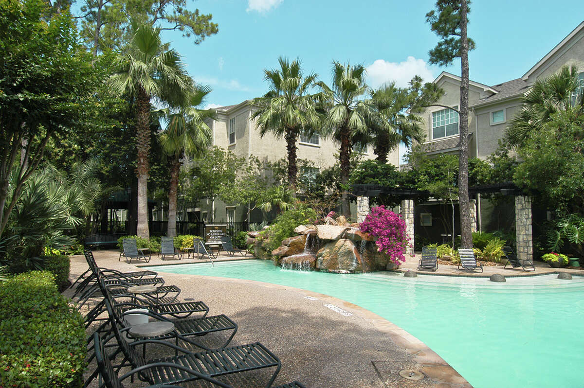 The 734-unit Old Farm apartment complex at 2500 Old Farm Road is one of two complexes purchased by NexPoint Residential Trust, Inc.
