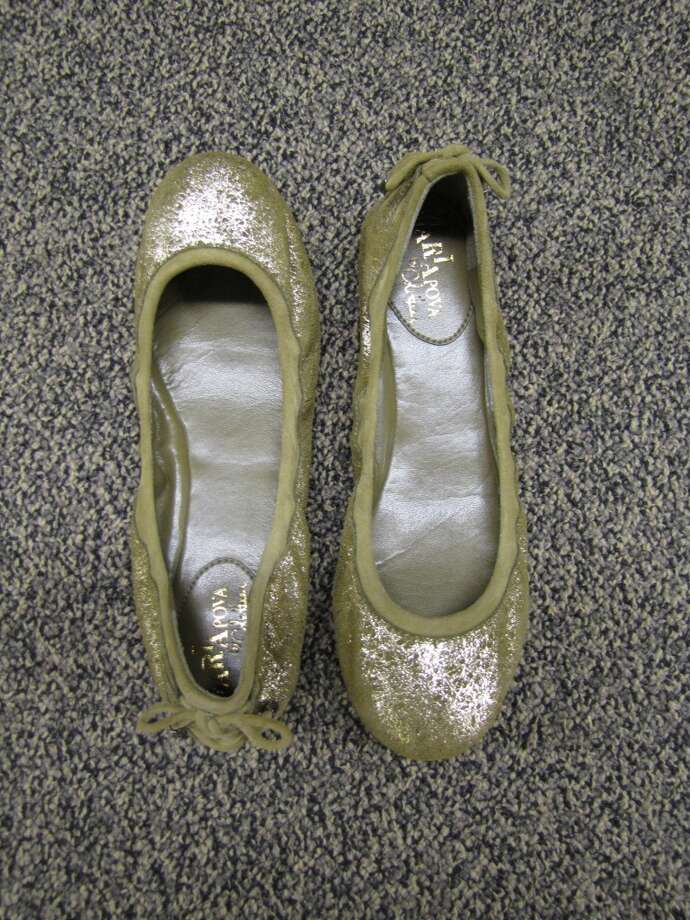 Metallic ballet flat, S & M Family Outlet, Beaumont, $79 Photo: Cat5
