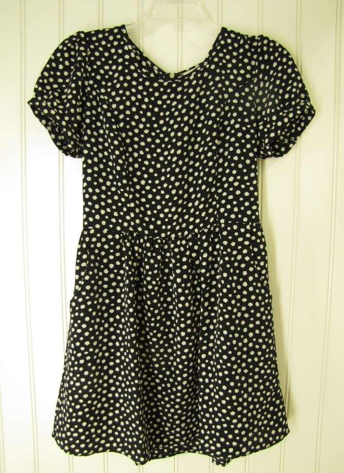 Patterned babydoll dress, Marshalls, Beaumont, $16.99 Photo: Cat5