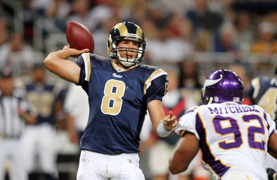Sam Bradford has yet to prove worth the mega-millions the Rams are paying for the no. 1 overall in 2010.