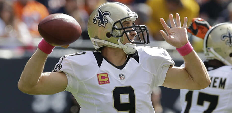 Leaning toward Brees and the Saints losing undefeated status. Photo: Nam Y. Huh