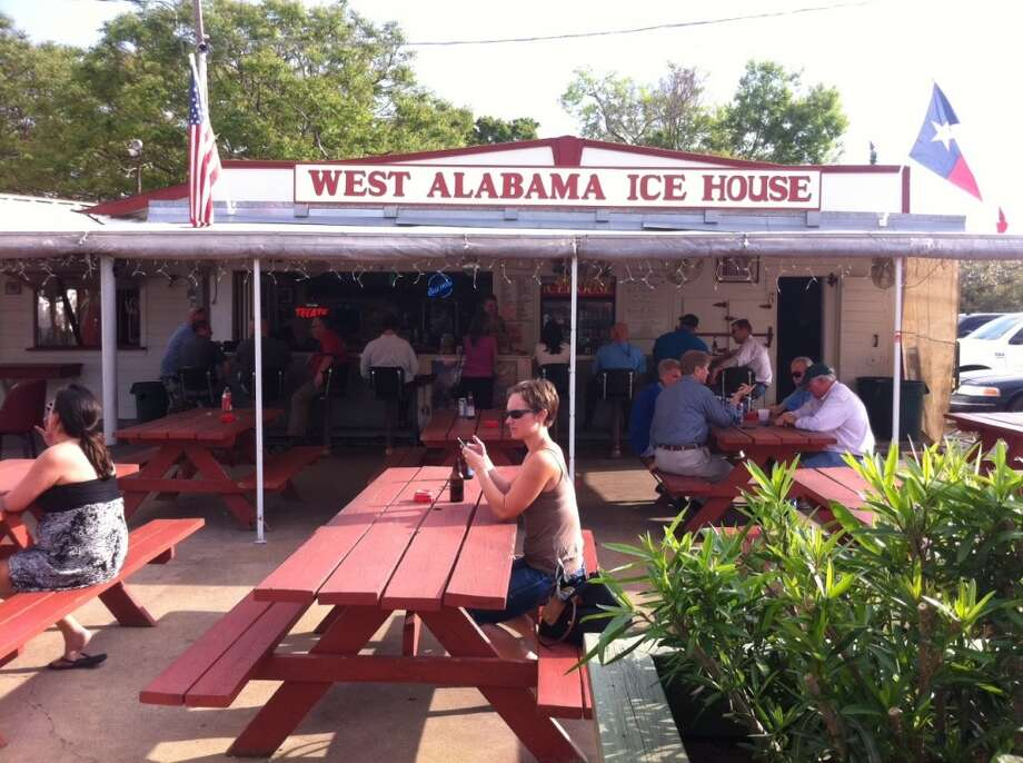 West Alabama Ice House for quality liquid refreshment.
