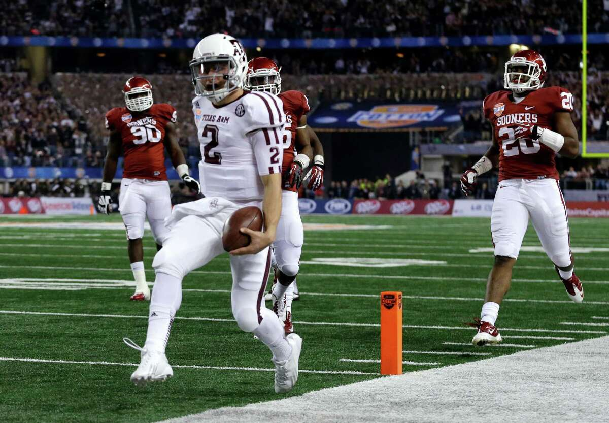 BEST WINS Jan. 4, 2013: No. 10 Texas A&M 41, No. 12 Oklahoma 13 Kevin Sumlin wrapped up his first season at Texas A&M with an absolute rout of the Sooners. The win gave the Aggies a Top 5 finish in the final polls.