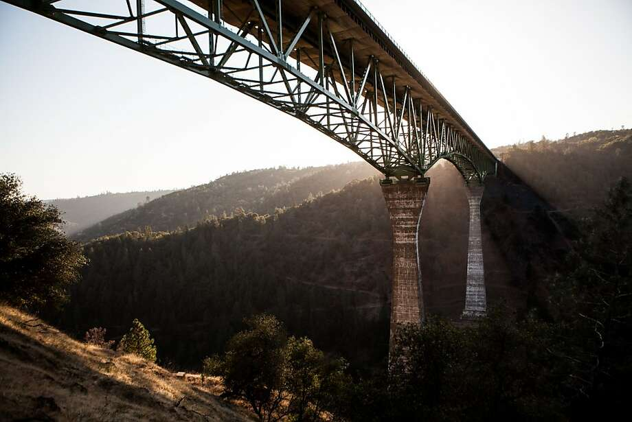The Foresthill Bridge in Auburn is the tallest in California and has been the site of dozens of suicides. Photo: Max Whittaker/Prime, Special To The Chronicle