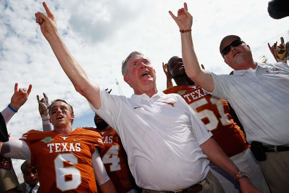 Longtime University of Texas football coach Mack Brown was born in Cookeville, Tenn. Photo: Tom Pennington, Getty Images