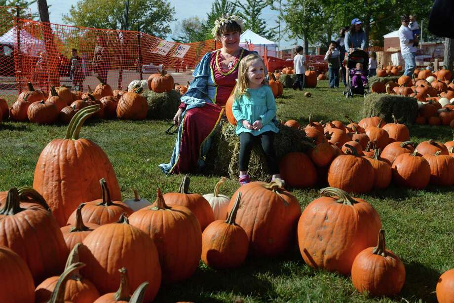The Boys and Girls Club of Milford's Pumpkins on the Pier fall festival took place Saturday, Oct. 12, 2013 at Walnut Beach in Milford, Conn. Photo: Autumn Driscoll / Connecticut Post