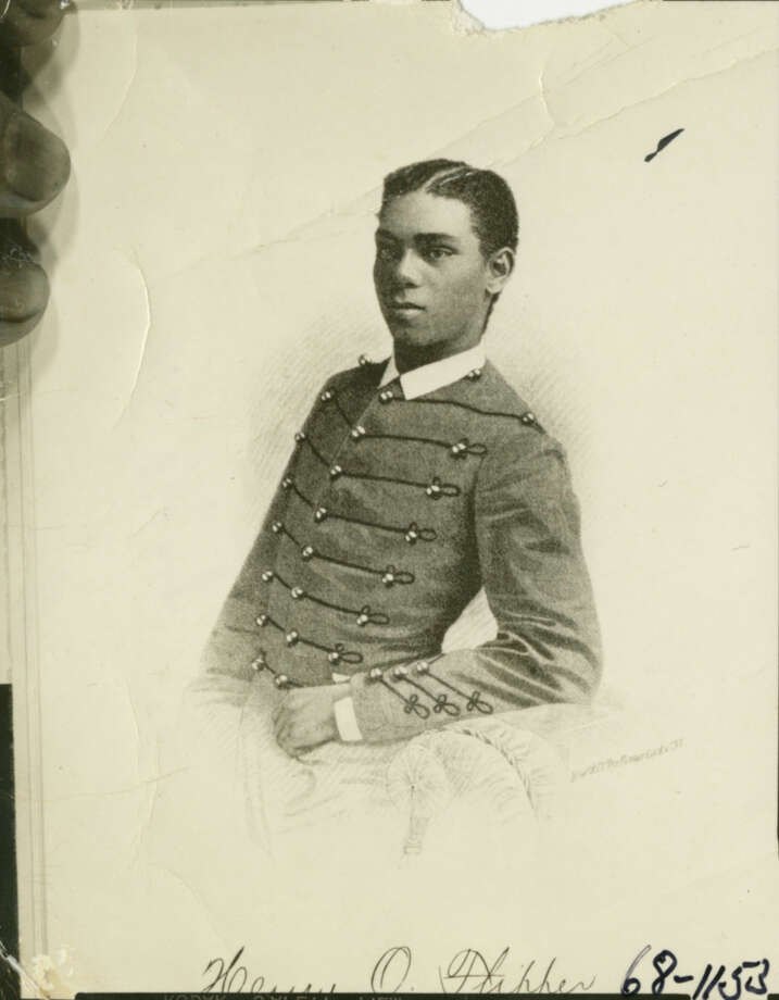 "Joe Holley, ""I found this photo of Henry Flipper during his West Point days tucked inside the pages of an old book."" Photo: Houston Chronicle File Photo, Houston Chronicle"