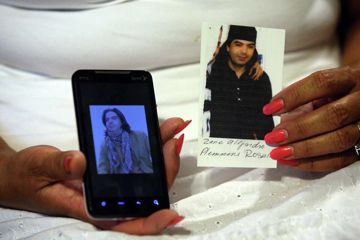 Zane Plemmons, 30, disappeared in Nuevo Laredo in March 2012.