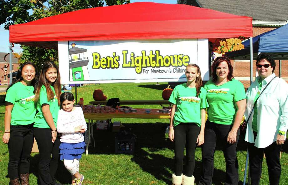 Were you SEEN at the Newtown Pumpkin Festival Saturday, October 12, 2013? Pictured here, Ben's Lighthouse  booth. Photo: Wendy Mitchell