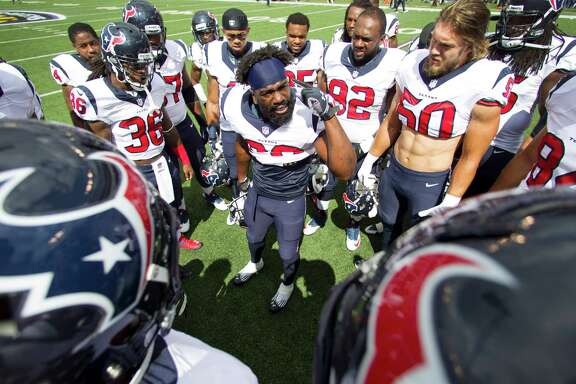 Having rallied his troops in Baltimore last year, safety Ed Reed knows exactly what to say to his Texans teammates following a 2-3 start.