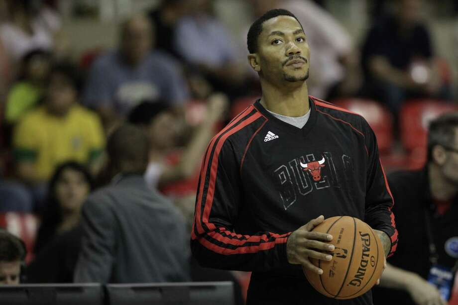 Derrick Rose did not play in 2012-13 after undergoing knee surgery at the end of the previous season.