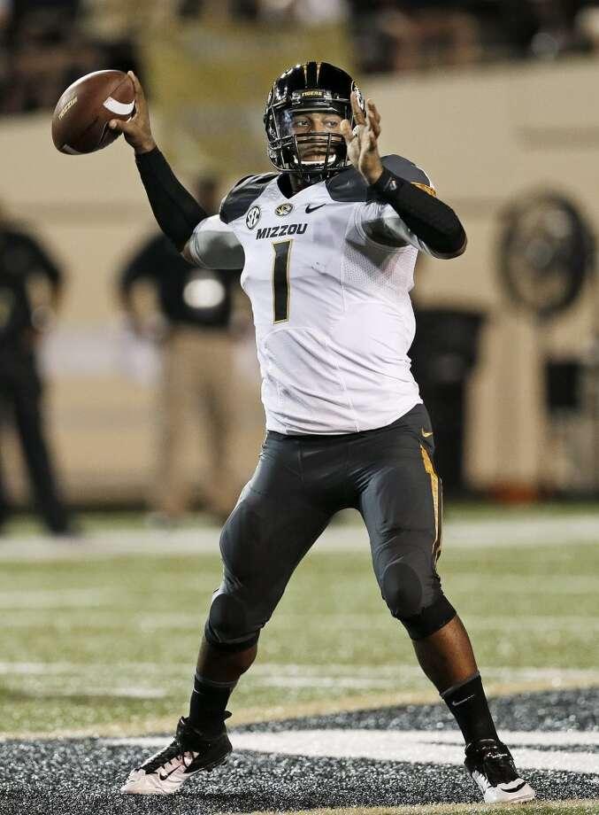 14. Missouri (6-0) Last week: 25 Photo: Mark Humphrey, Associated Press