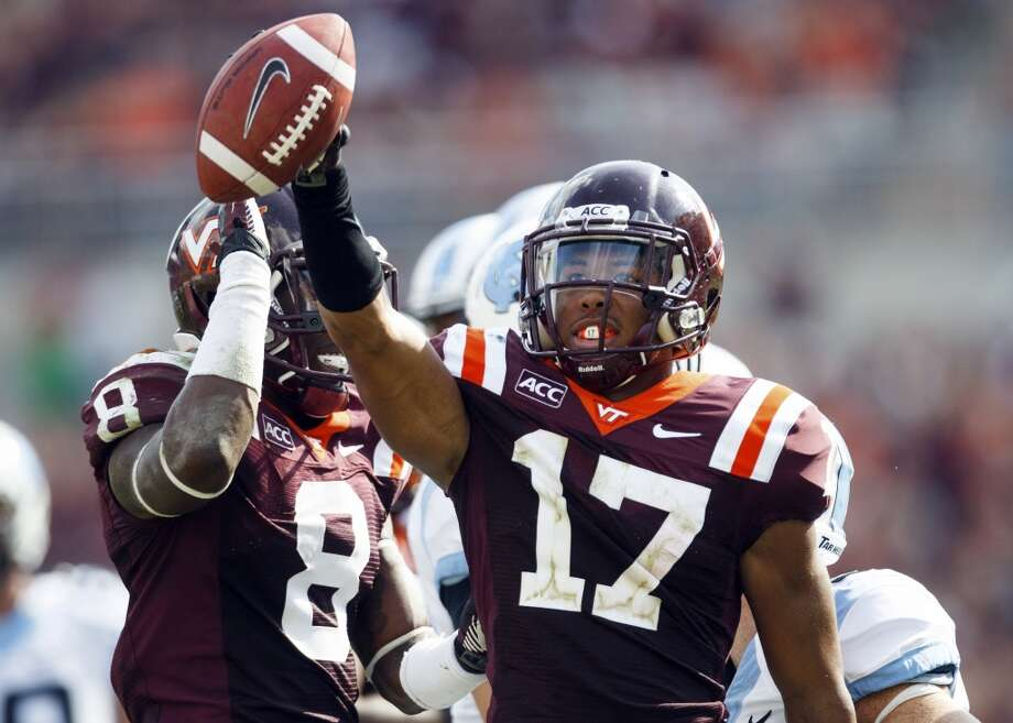 19. Virginia Tech (6-1) Last week: 24 Photo: Joel Hawksley, Associated Press