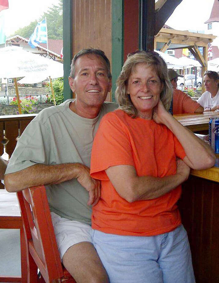 "This undated photo provided by Patty Konietzky, shows her with husband Henry ""Butch"" Konietsky after tubing in Helen, Ga. Butch died 60 hours after contracting the bacteria vibrio vulnificus. The couple went crabbing in the Halifax River near Ormond Beach in September 2013.  Butch developed a sore which was later confirmed to be vibrio vulnificus. The bacteria can be contracted by eating raw seafood, especially oysters, or having an open wound come in contact with contaminated seawater. So far, 31 people this year in Florida have contracted the disease, and 10 have died. Photo: Uncredited, AP / AP2013"