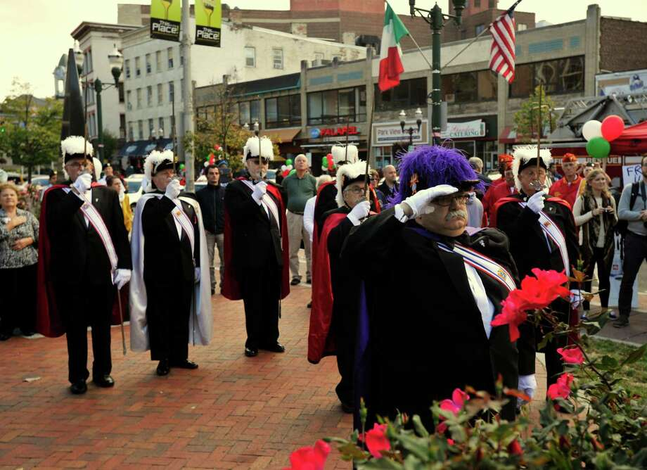 Columbus Day festivities in Stamford, Conn., on Sunday, Oct. 13, 2013. Photo: Jason Rearick / Stamford Advocate