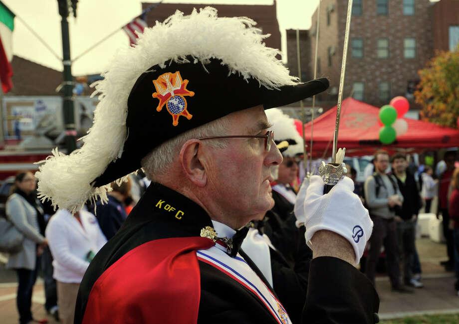 Columbus Day festivities in Stamford, Conn., on Sunday, Oct. 13, 2013. Photo: Jason Rearick / Stamford Advocate