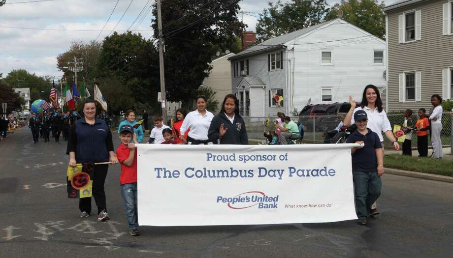 Bridgeport holds the 105th Columbus Day Parade on Sunday, Oct. 13, 2013. Photo: BK Angeletti, B.K. Angeletti / Connecticut Post freelance B.K. Angeletti