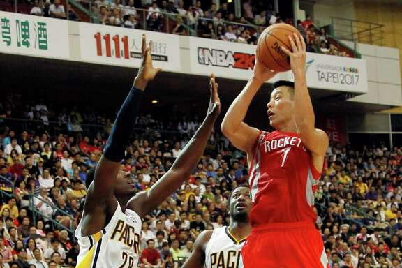 Jeremy Lin finished with 17 points and four assists in the Rockets' second consecutive victory over the Pacers.