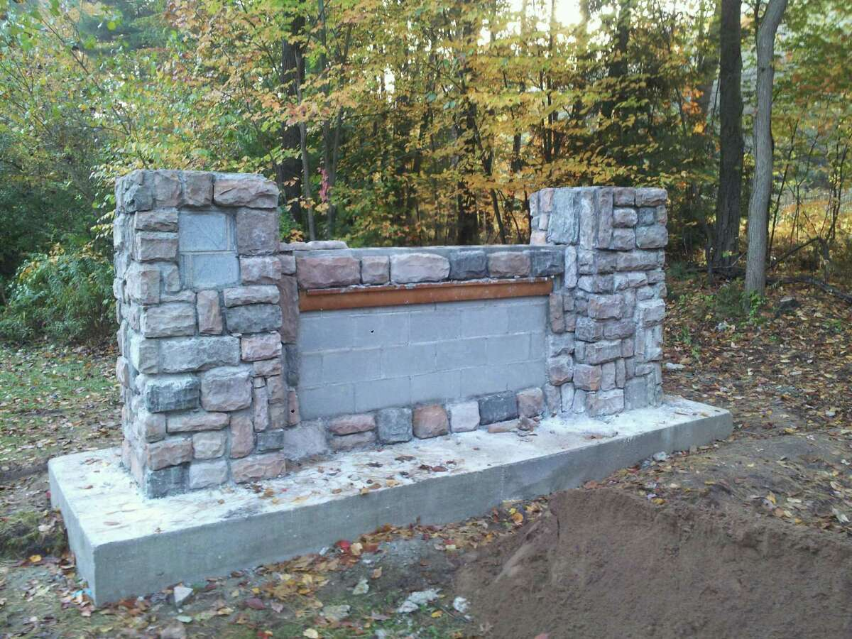 Rick Barber of Christinamarie Drive has led an effort to build a memorial sign with a plaque to the late Deanna Rivers in the Clifton Park cul-de-sac where her surviving family reside. Here's what the project looked like the week of Oct. 6-12.