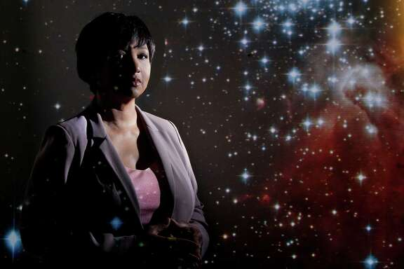 Former  NASA  astronaut Mae  Jemison is head of the Houston-based 100 Year Starship project to advance human space  travel.