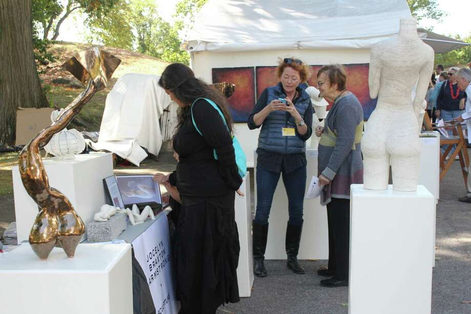 Were you SEEN at the 32nd Annual Outdoor Arts Festival on Oct 12 & 13, 2013? Photo: Picasa, P. Ha-Stevenson / Hearst Connecticut Media Group