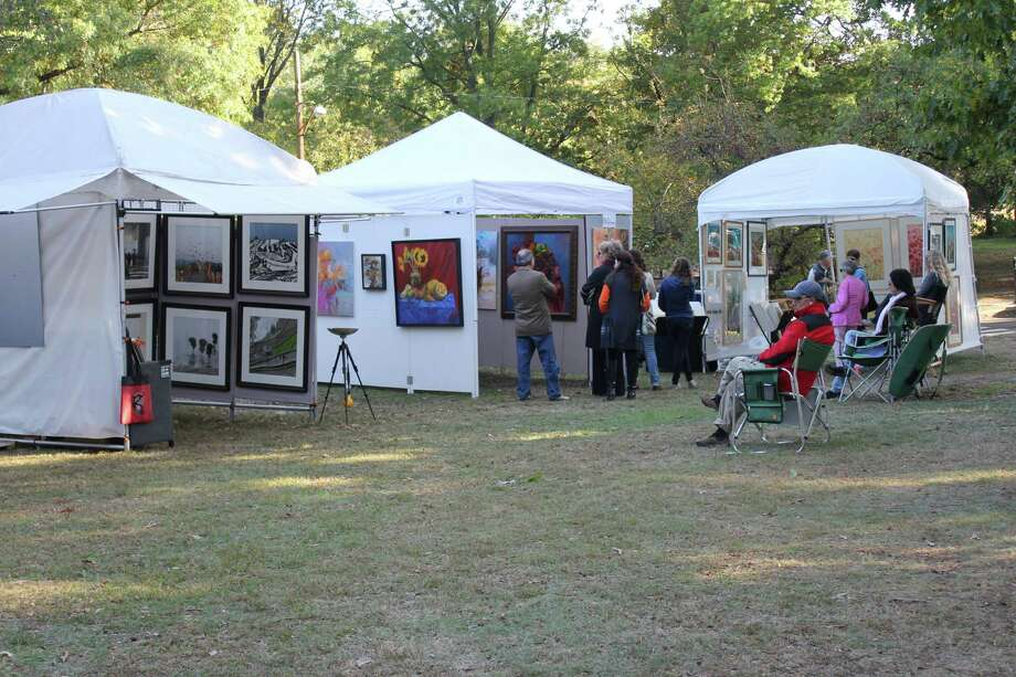 Were you SEEN at the 32nd Annual Outdoor Arts Festival on Oct 12 & 13, 2013? Photo: P. Ha-Stevenson / Hearst Connecticut Media Group