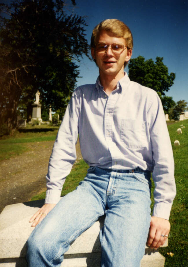 John Watkins of Glens Falls had an affair with priest Gary Mercure in the 1990s. Watkins, pictured here in a photo that Mercure took during their affair, said he told church officials Mercure was attracted to his youthful looks and showed a sexual interest in young boys. (Photo courtesy John Watkins)