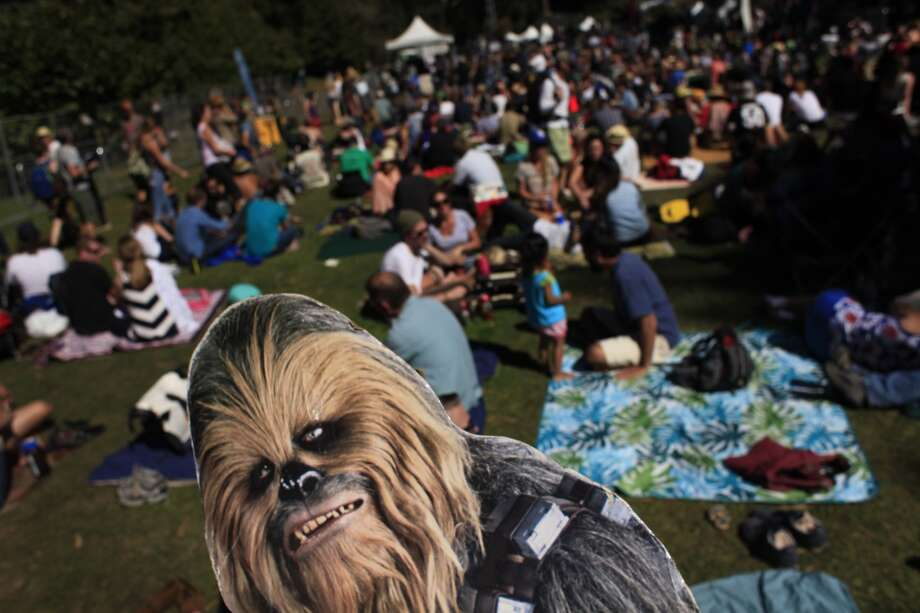 ChewbaccaSF at Hardly Strictly Bluegrass in San Francisco, Calf. Photo: Mike Kepka, The Chronicle