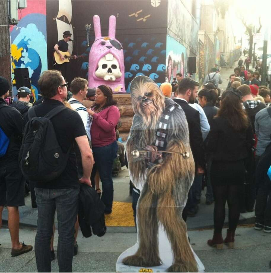 @chewbaccaSF - courtesy Scott Renner Photo: Scott Renner