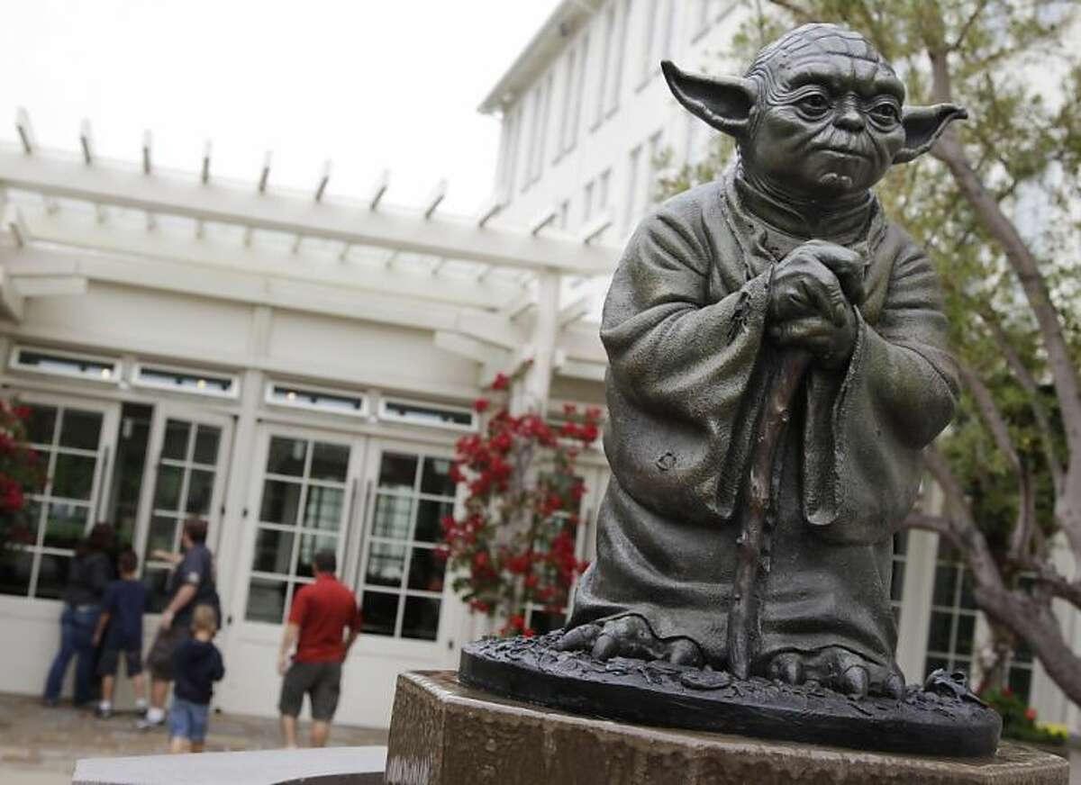 Visit the Yoda fountain at the Lucasfilm offices in the Presidio, you will.