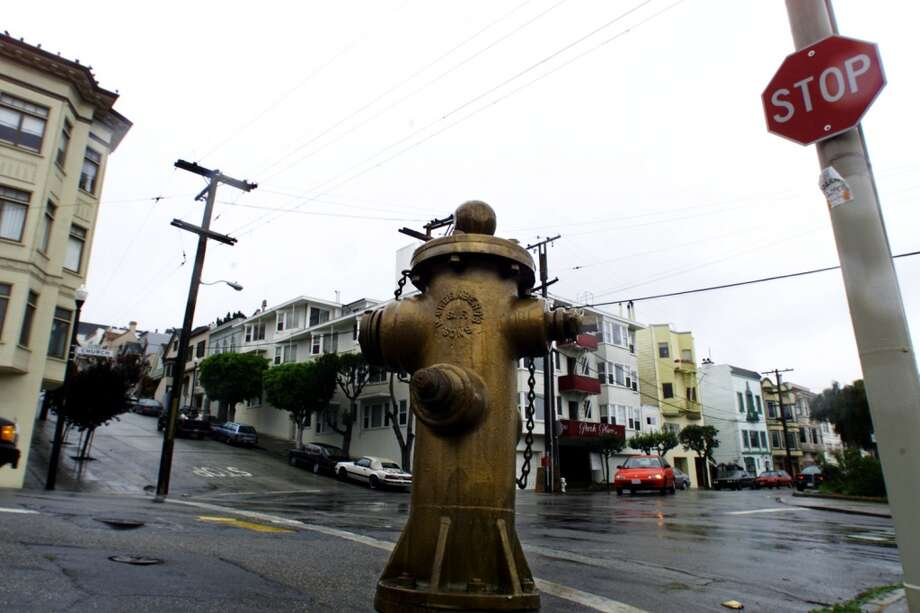 Head to 20th & Church in S.F. to pay homage to the gold fire hydrant, one of the few to remain in operation during the 1906 earthquake. The hydrant helped firefighters save the surrounding neighborhood and gets re-painted every year on April 18, the quake's anniversary. Photo: Lance Iversen, The Chronicle