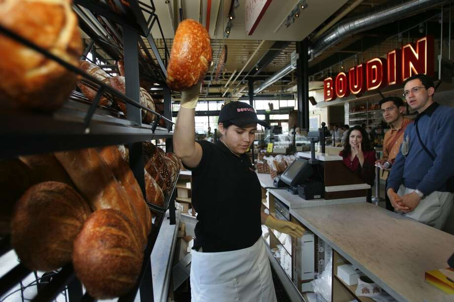 See how S.F.'s famous bread gets baked at the Boudin museum and bakery in Fisherman's Wharf. Photo: Frederic Larson, The Chronicle