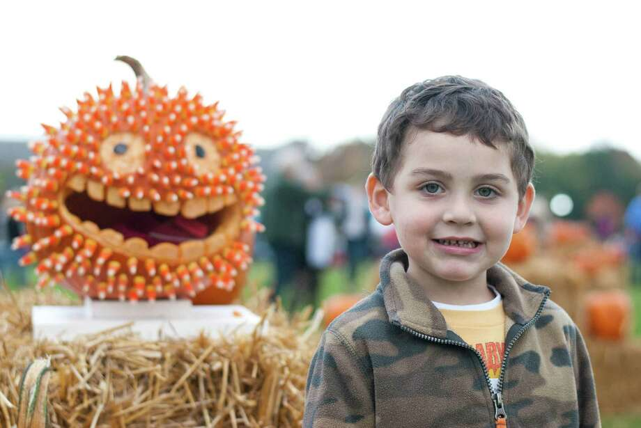 Were you SEEN at Newtown Pumpkin Carving Festival at Fairfield Hills on Saturday, October 12, 2013? Photo: Kait Jaouen / Hearst Connecticut Media Group