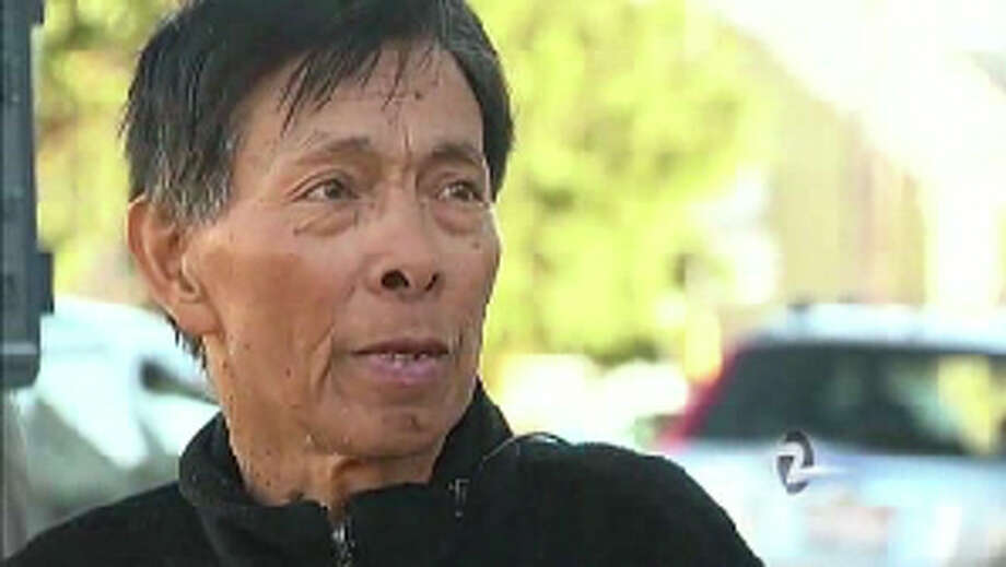 Gene Penaflor spent 19 days lost in a remote canyon of Mendocino County, surviving on squirrels, lizards and berries, and wrapping himself in leaves and grass to stay warm. Photo: KTVU
