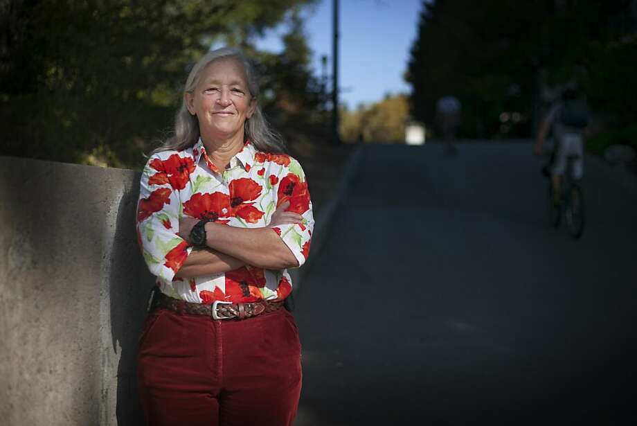 Peggy Hellweg is the operations manager of the Berkeley Seismological Laboratory, which is based on the UC Berkeley campus. Photo: Sam Wolson, Special To The Chronicle