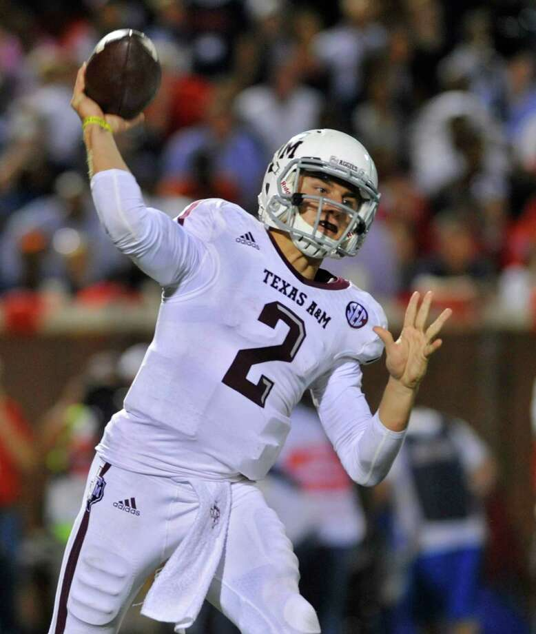 The first freshman to ever win the Heisman Trophy, Johnny Manziel could become just the second player ever to win two Heismans. Photo: Austin McAfee, Associated Press / The Daily Mississippian