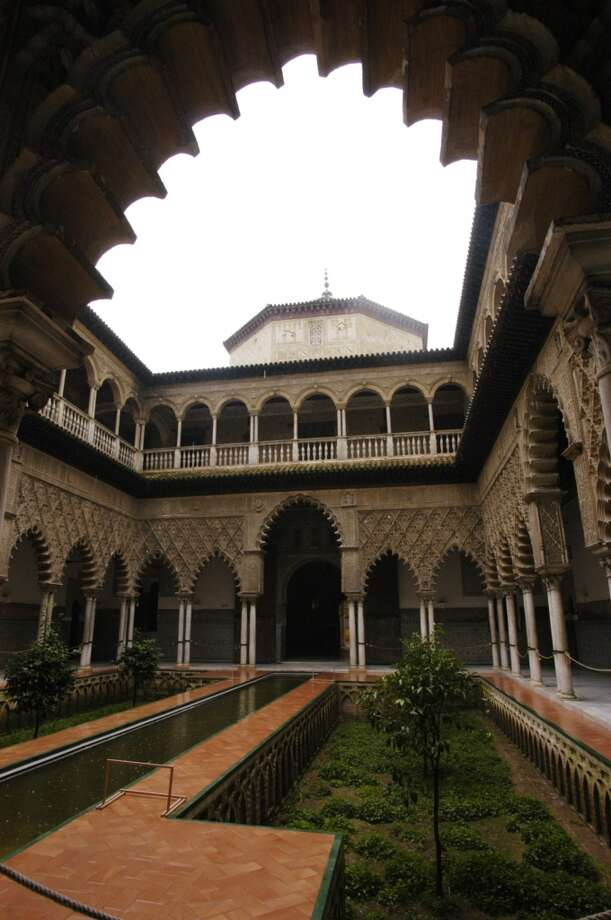 The Courtyard of the Maidens in the Alcazar in Seville. Photo: Spud Hilton, The Chronicle