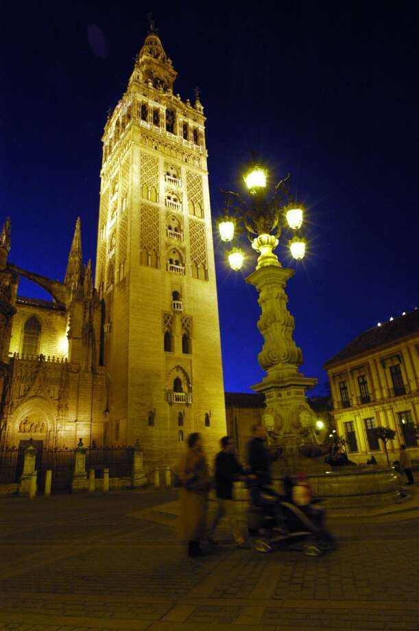 The Giralda bell tower of the Cathedral of Seville. Photo: Spud Hilton, The Chronicle