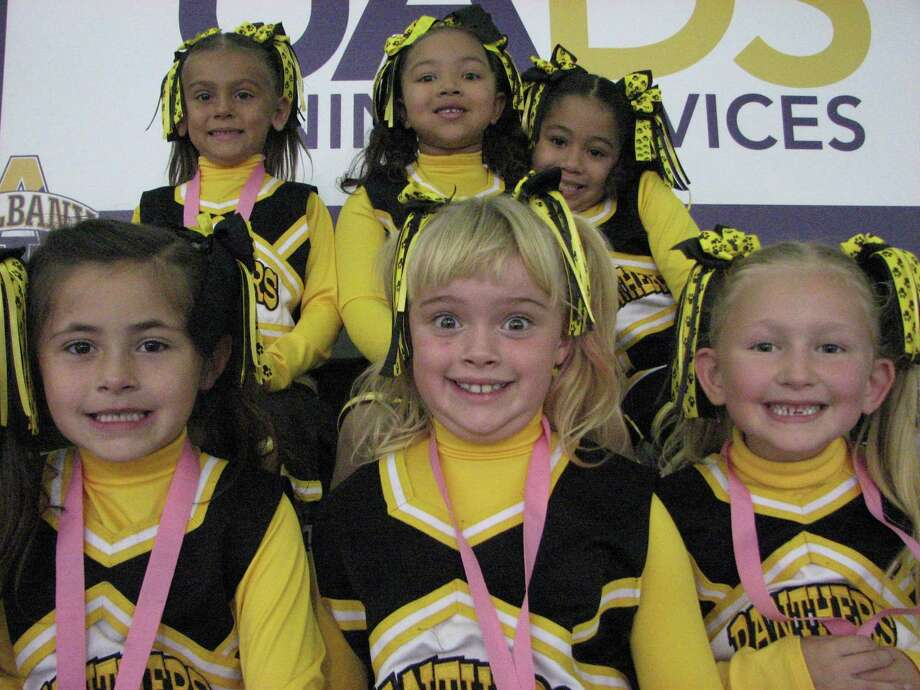 Were you Seen at the Capital District Pop Warner Federation Cheer Competition at UAlbany's SEFCU Arena on Sunday, Oct. 13, 2013? Photo: Michael Huber