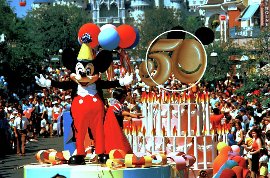 November 18, 1978:Mickey Mouse turns 50. Photo: ASSOCIATED PRESS / AP1978