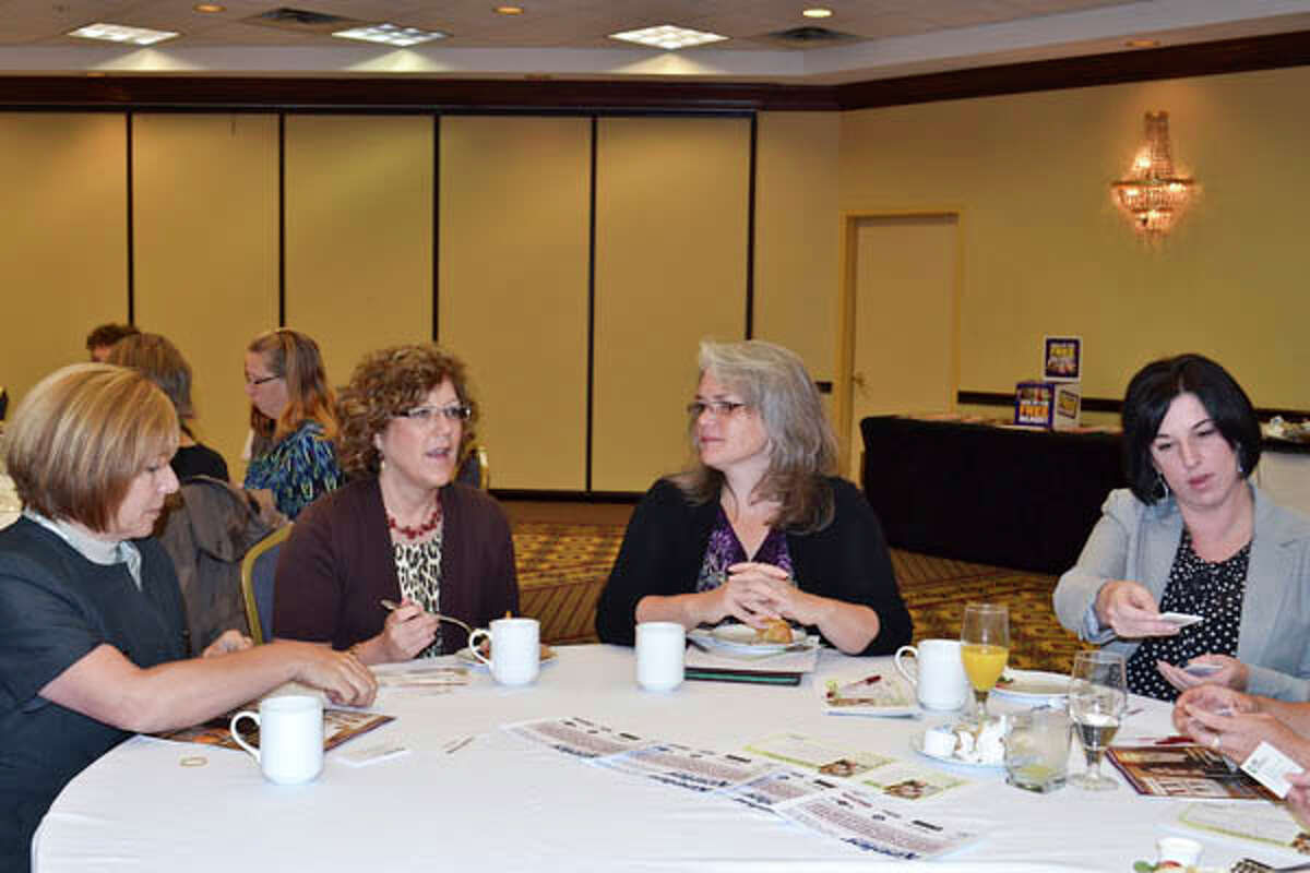 Were you Seen at the Women@Work magazine's breakfast event, 'Managing Up, The Best Way to Work with your Boss,' at the Albany Marriott in Colonie on Monday, Oct. 14, 2013?