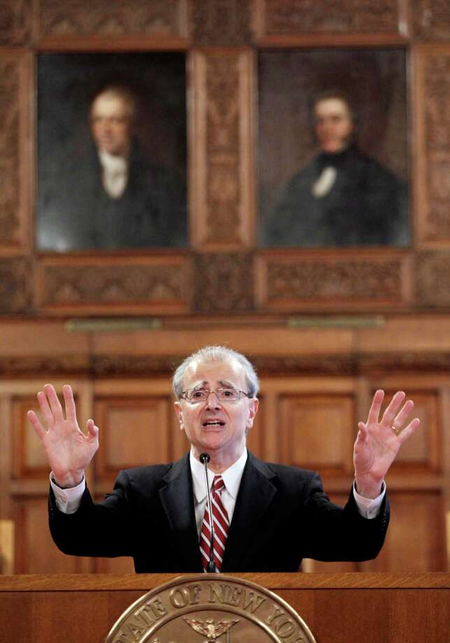 Associated Press Archive Chief Judge Jonathan Lippman has announced new Human Trafficking Intervention Courts. Photo: Mike Groll / AP
