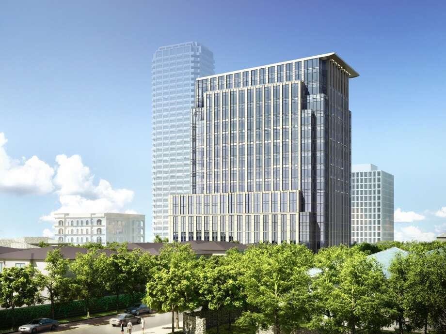 2929 San Felipe will be a 17-story office building in the River Oaks area. Photo: Courtesy Of Hines