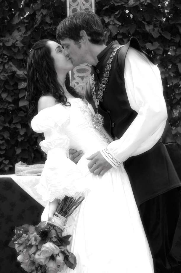The Texas Renaissance Festival grounds hold five wedding chapels and two receptions venues. They take reservations year round. Photo: Courtesy Cory Brock, Texas Renaissance Festival