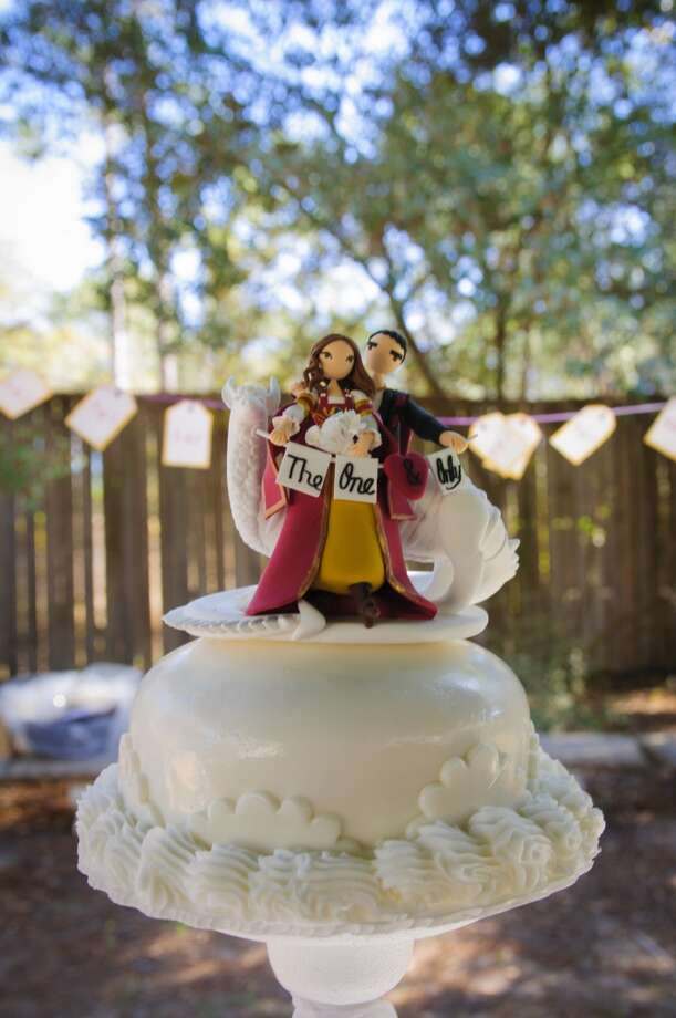 The Texas Renaissance Festival grounds hold five wedding chapels and two receptions venues. They take reservations year round. Photo: Steven David Johnson, Texas Renaissance Festival