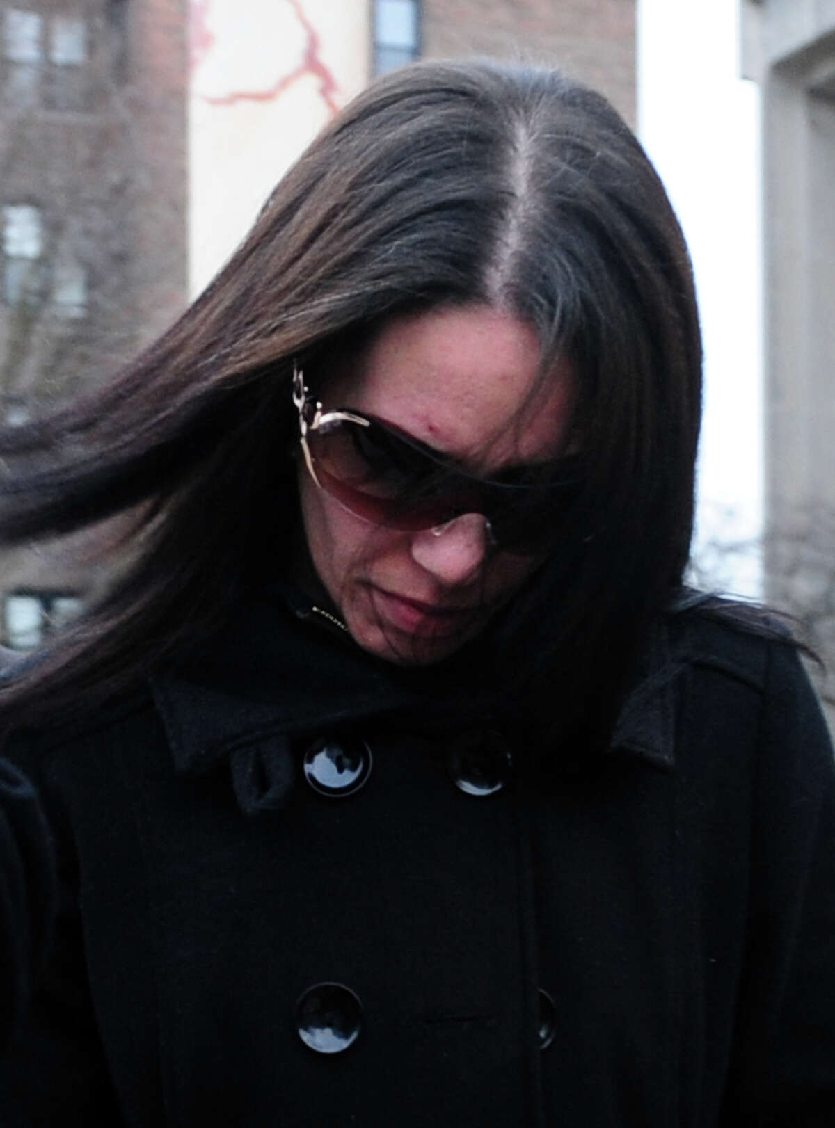 Nouel Alba leaves the federal courthouse in Bridgeport, Conn. Thursday, Jan. 17, 2013. U.S. District Judge Michael Shea will decide on Tuesday, Oct. 15, 2013, whether Alba of the Bronx, N.Y. will spend time in federal prison or be placed on probation.
