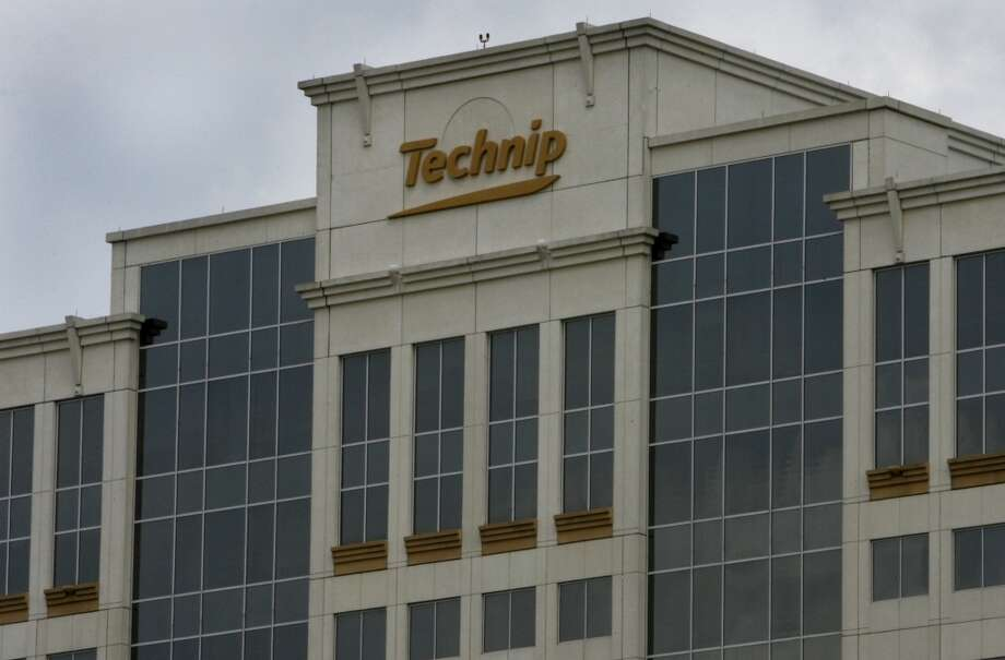 The Technip building at 11700 Katy Freeway in Houston. Photo: Carlos Antonio Rios, Houston Chronicle
