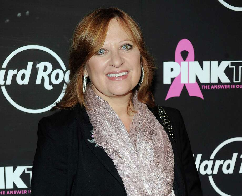 "FILE - This Oct. 2, 2012 file photo originally released by Hard Rock shows TV personality Caroline Manzo at the 13th Annual Pinktober Breast Cancer Awareness Campaign at Hard Rock Cafe in New York. Manzo says she's ready to walk away from the reality series that made her famous. She made the announcement Sunday, Oct. 13, 2013, over Twitter and on her blog on Bravo's website once ""The Real Housewives of New Jersey"" aired the final part of its reunion. She says the show, known for its brawls, screaming and family fights, has become something she hopes her future grandchildren will never see. (AP Photo/Hard Rock, Scott Gries, File) ORG XMIT: NYET161 Photo: Scott Gries / Invision"