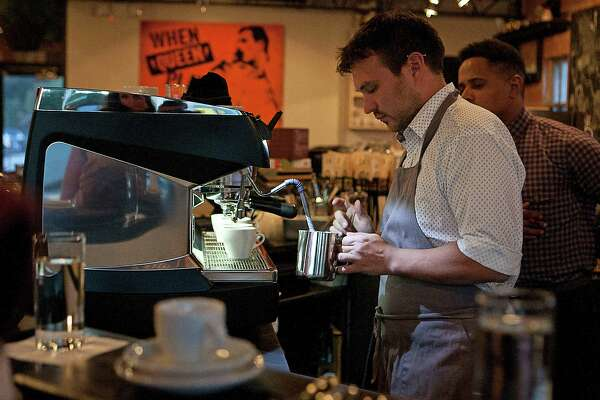 Blacksmith coffee gets caffeinated for barista competition